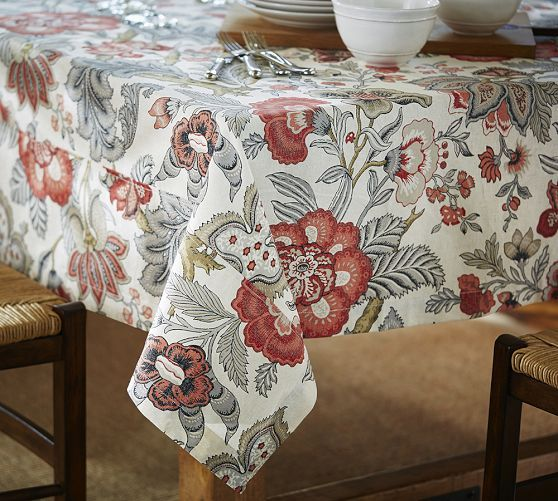Allegra Palampore Tablecloth | Pottery Barn