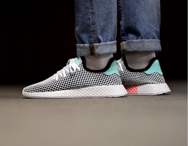 adidas Deerupt Runner Core Black Easy Green B28076  8ef15474d