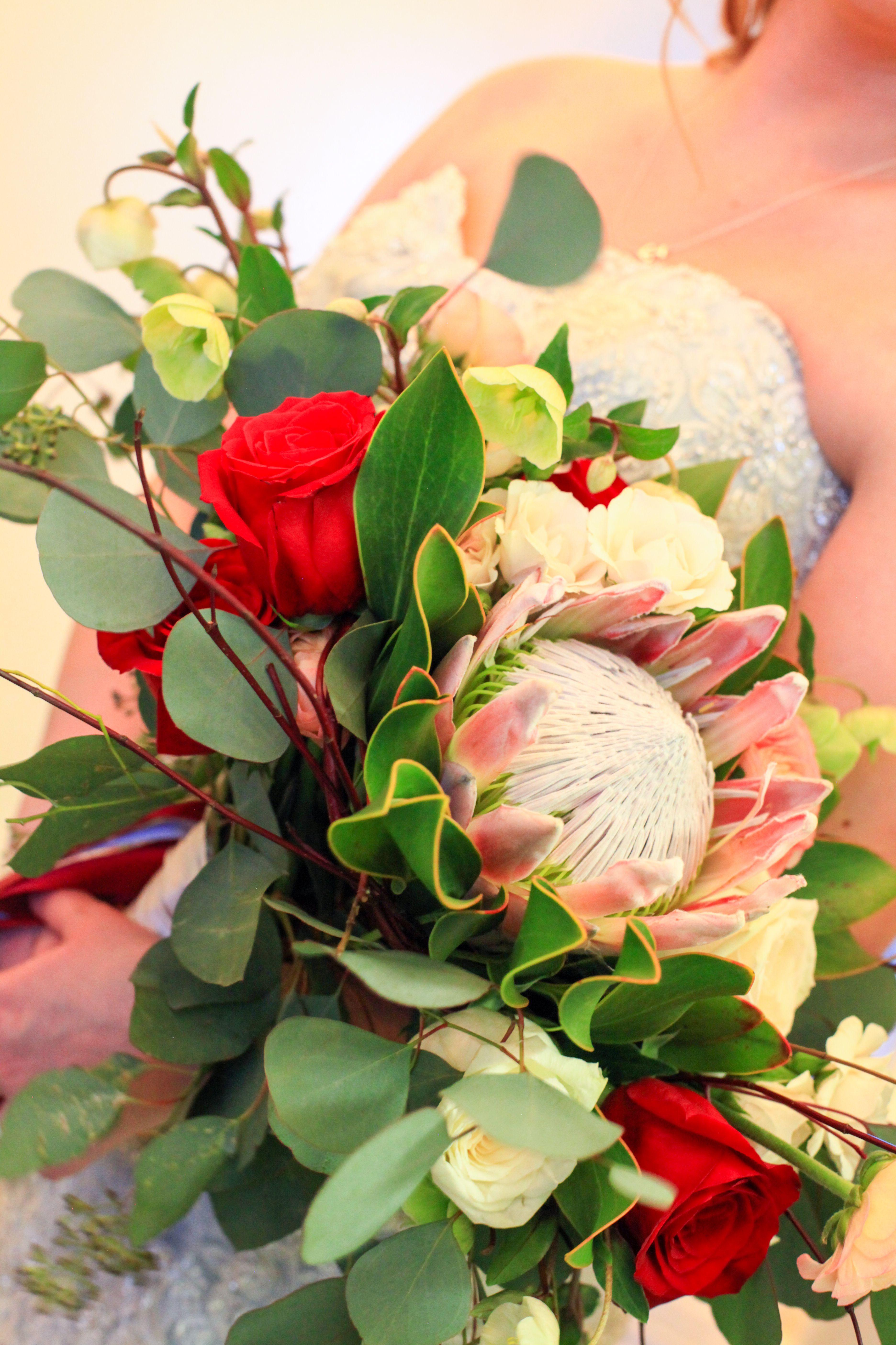Bridal Inspiration Frostbitten Fantasy Fashion Show Floral