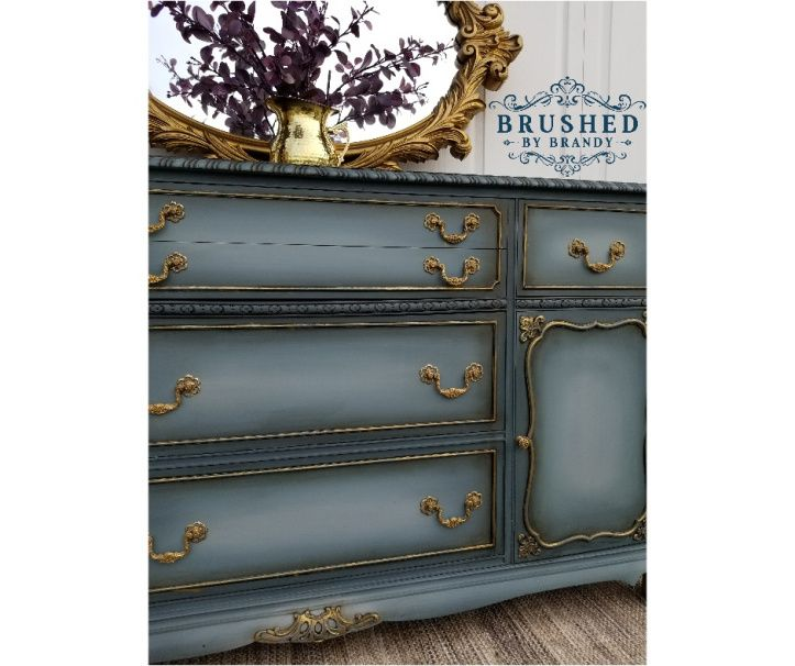 Blended Blue Buffet   Dixie belle paint, Paint companies ...