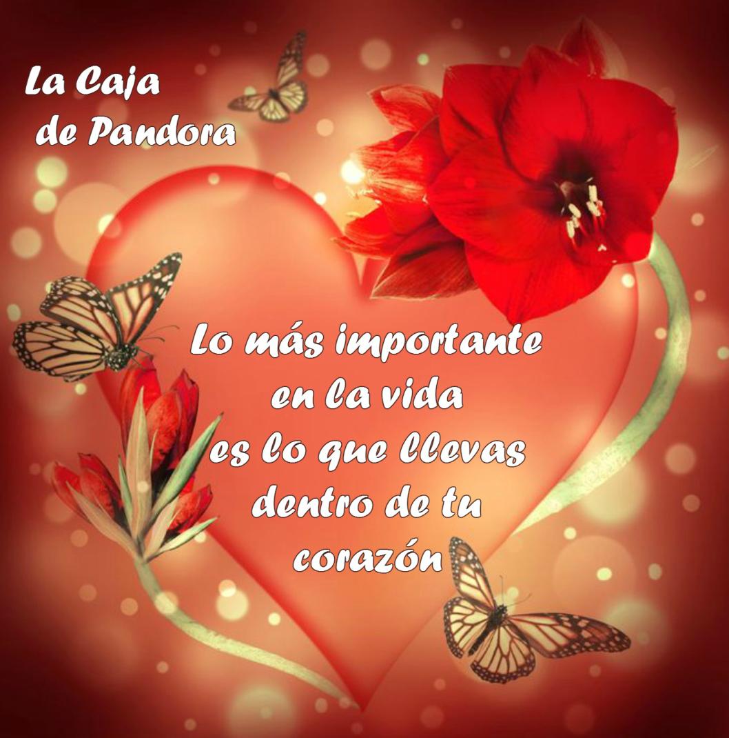 Encantador Corazones Con Frases De Amor Dentro Fotos De Corazones De