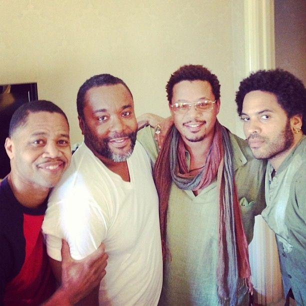 Lenny Kravitz (w/Cuba Gooding, Jr., Lee Daniels, Terrance Howard)