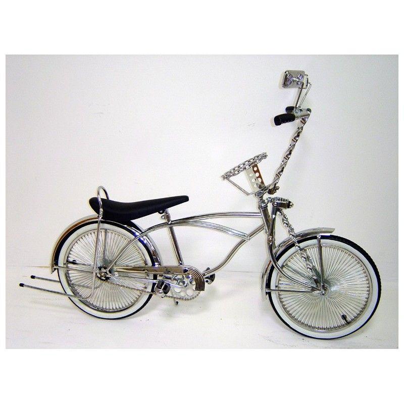"26/"" Bent Spring Fork 1/"" W//Twisted Bars Chrome cruiser lowrider bike bicycle"