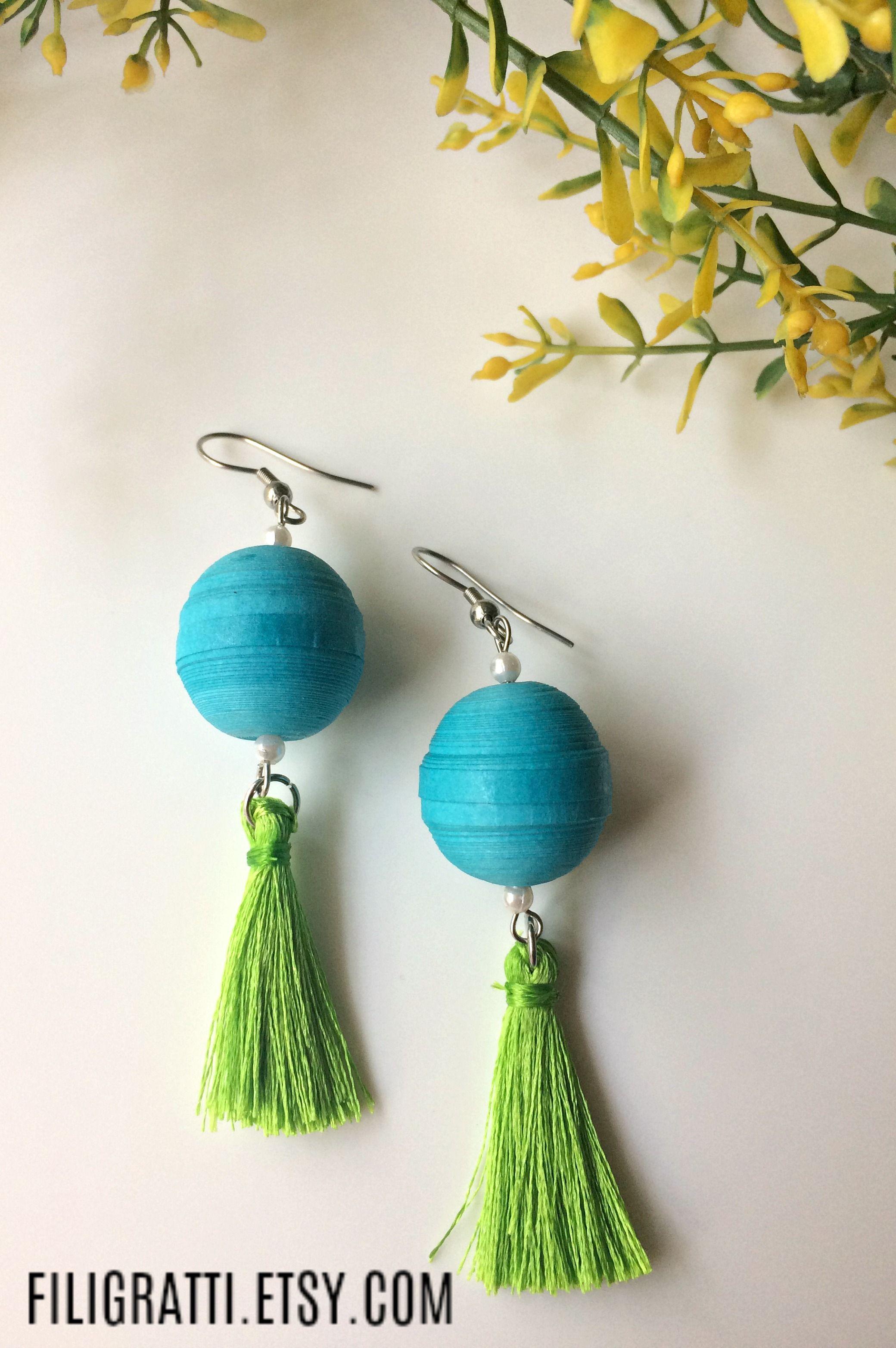Looks - Wear you Would Tassel earrings? video