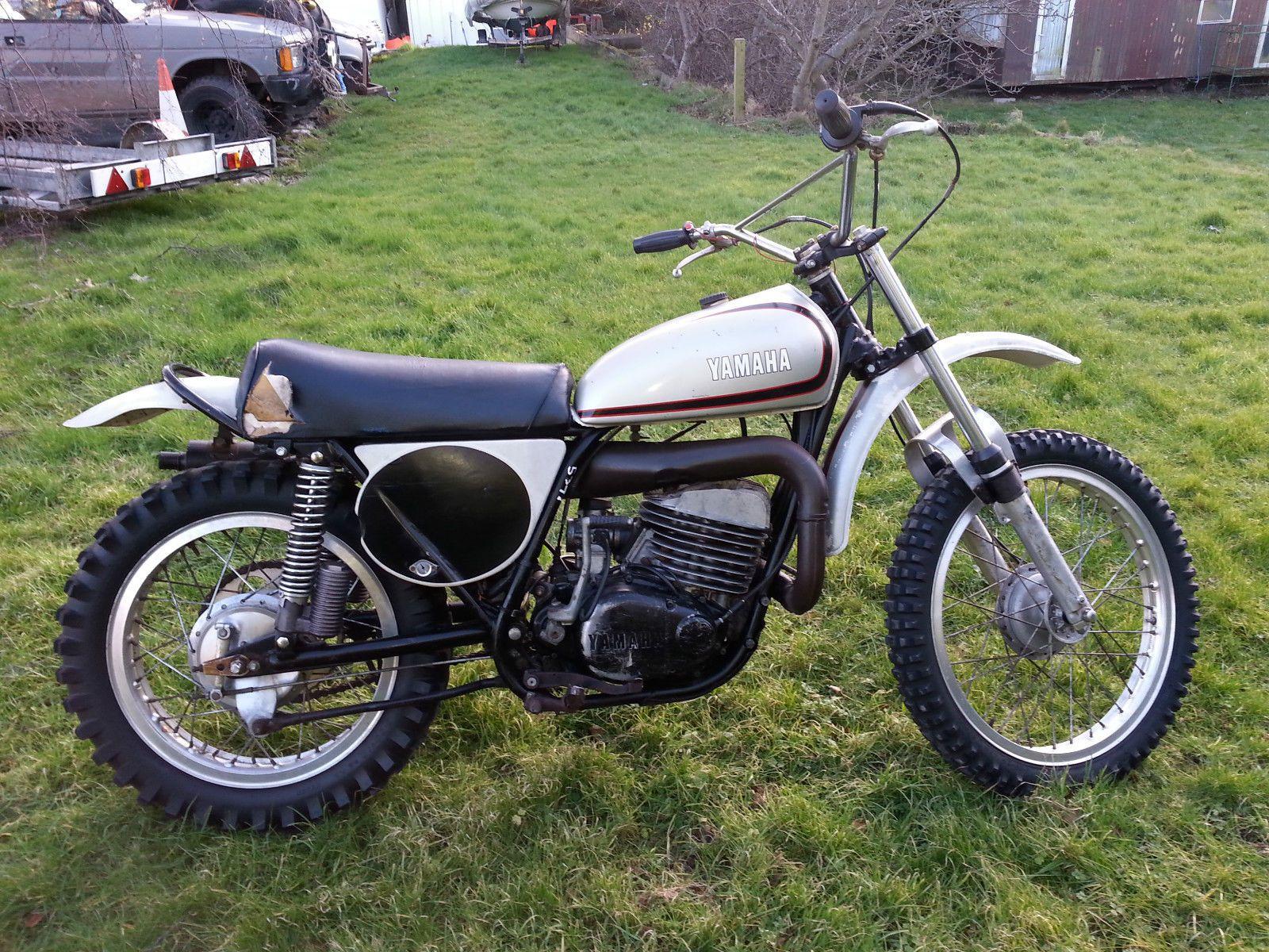 1973 Yamaha Sc500 Vintage Classic Motocross Twin Shock Motorcycle Rare Machine Motorcycle Motocross Vintage Bikes