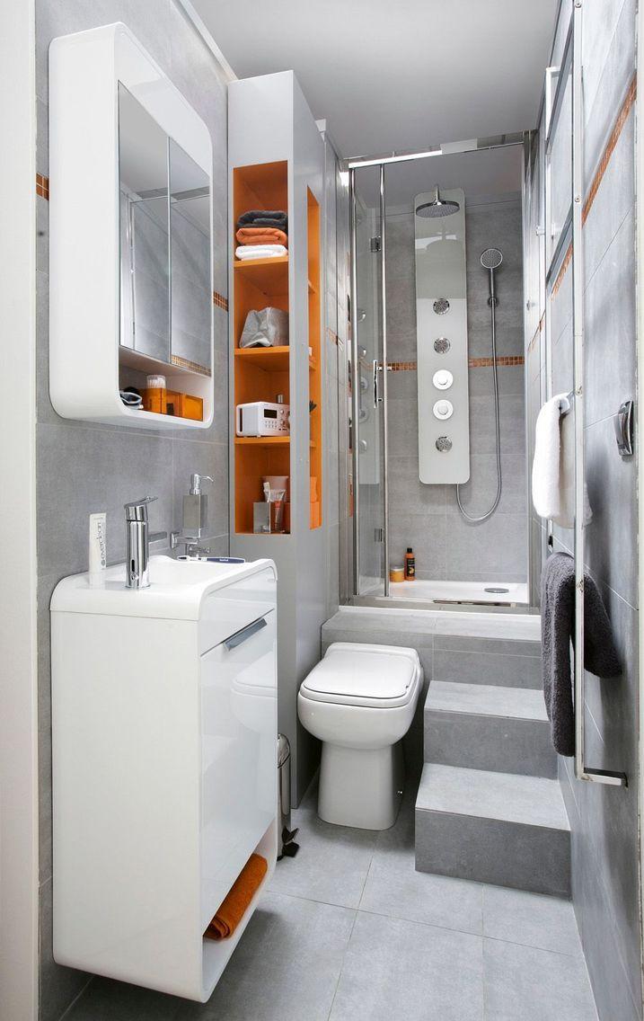 Petite Salle De Bain Avec Baignoire Douche Design
