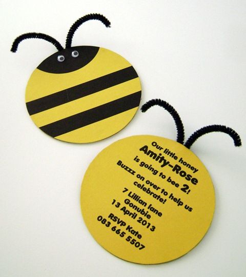 Bumble Bee Invitations – Bumble Bee Party Invitations