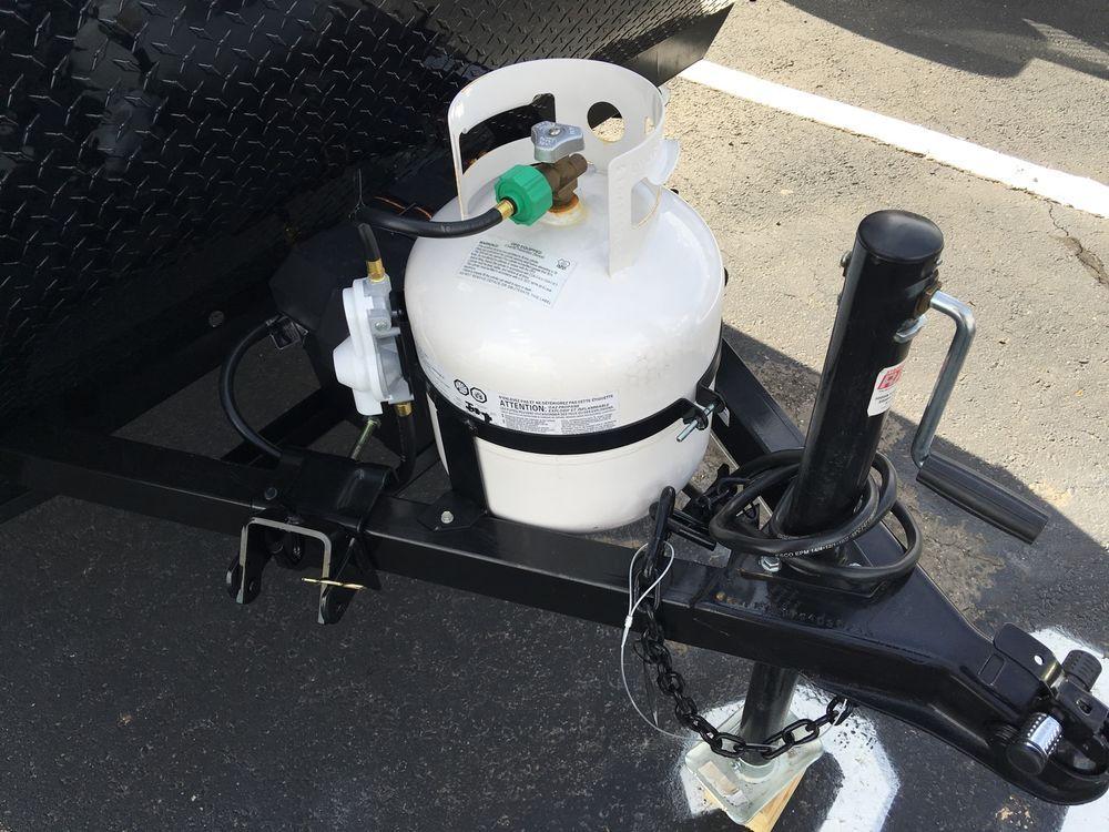 Propane Bottle 30 Lb Cylinder Tank Rack Bracket Holder Dual Rv Camper Trailer Vintage Trailers Propane Tank Cool Things To Buy