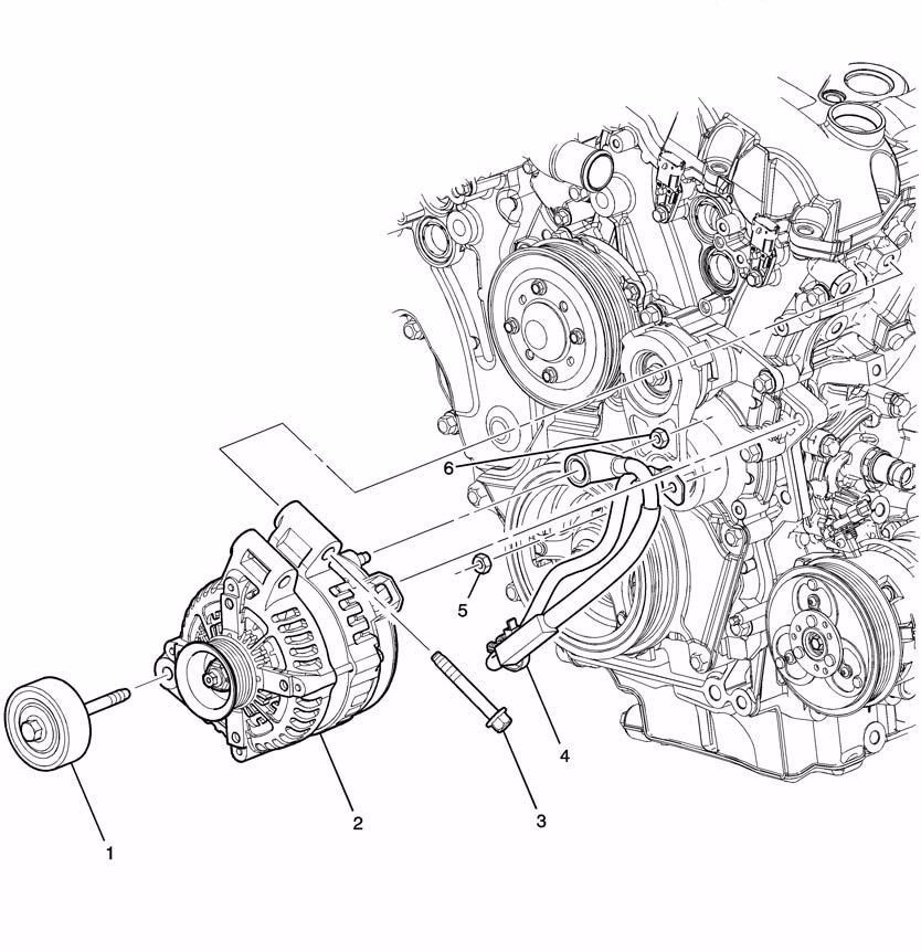 07 09 Suzuki Xl7 3 6l Fuse Fusible Link Starter To Alternator Cable 15910139