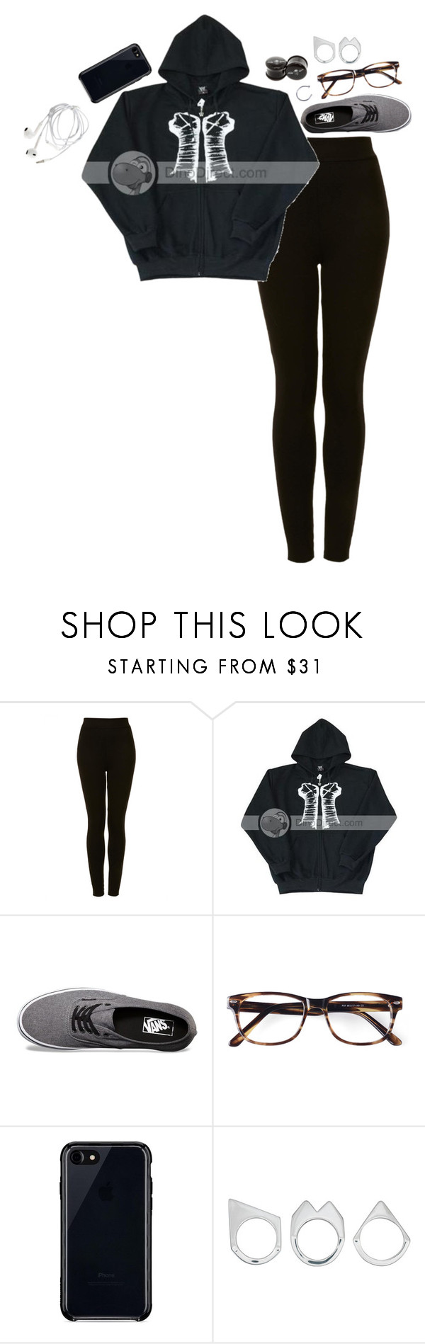 """i miss the show solitary"" by un-iversal ❤ liked on Polyvore featuring Topshop, WWE, Vans, Belkin and Moratorium"