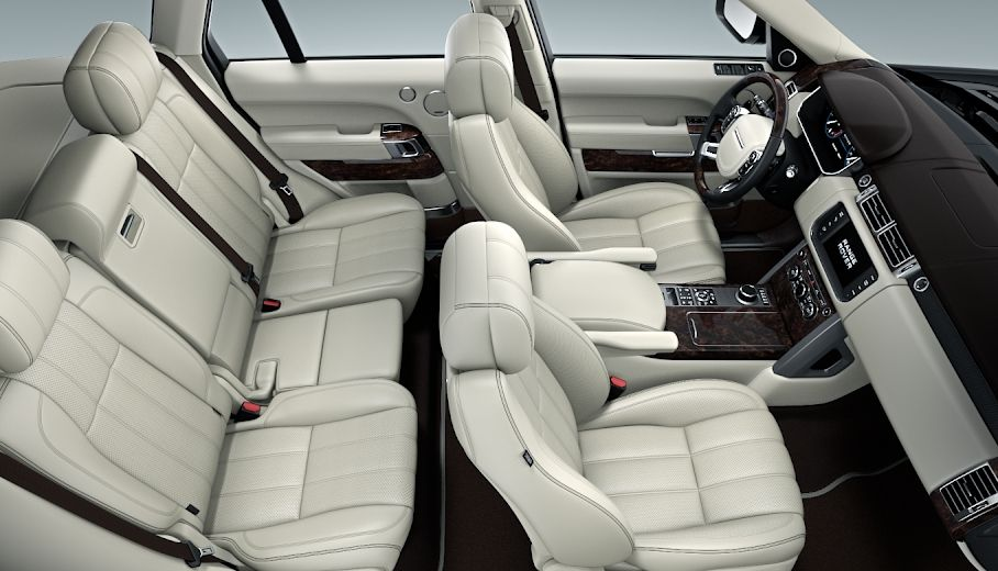 Interior Range Rover Vogue 2016 Aintree Green Indus Silver