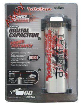Rockford Fosgate RFC1D 1 Farad Digital Capacitor By 7399 Hybrid Save 51 Off