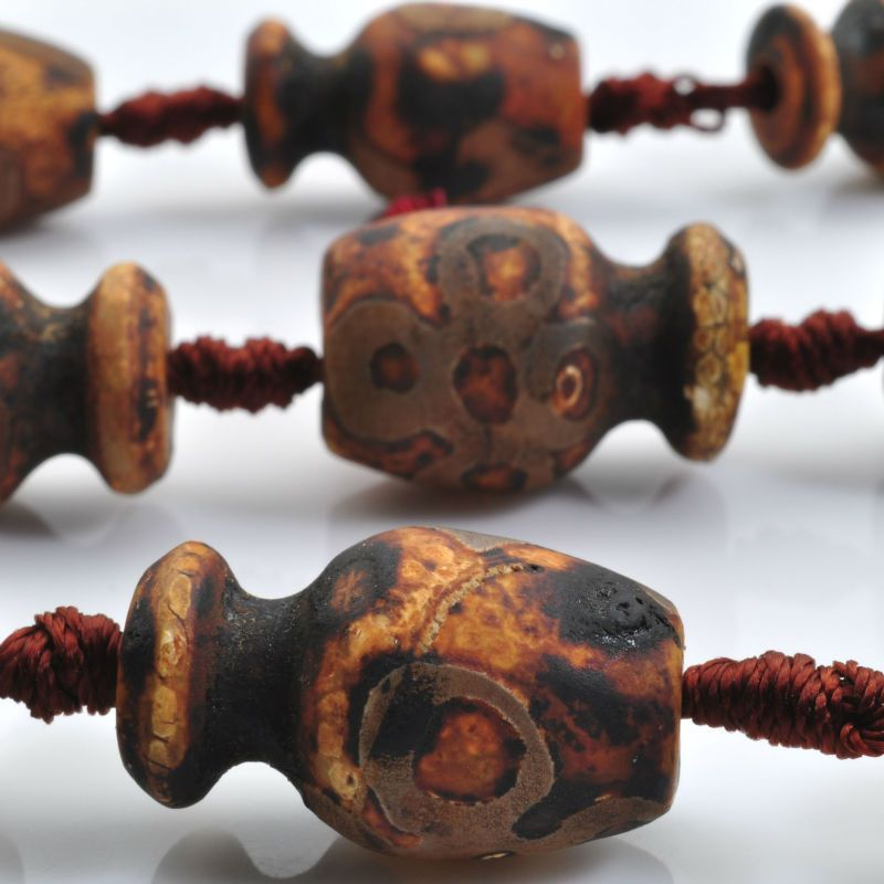 Find More Beads Information about Tibetan Agate,Matte Agate three eyes vase beads (14 15)x(22 25)mm,11 pcs,GB2306,High Quality vase lamp,China vase shelf Suppliers, Cheap vase suppliers from Goodbeads on Aliexpress.com
