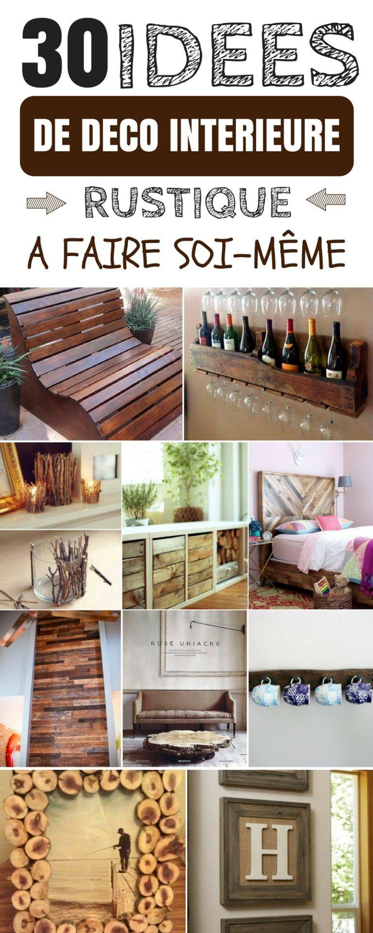 Idee Deco Campagne A Faire Soi Meme 30 idées de décoration intérieure rustique, à faire vous