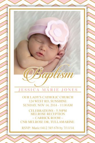 Baptism and Christening Digital Printable Invitation Template ...