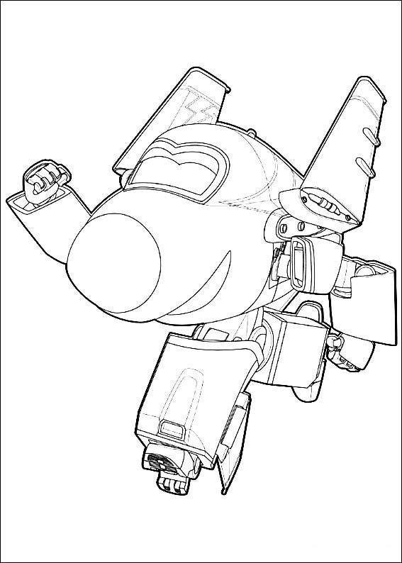 super wings coloring pages 7 - Sprout Super Wings Coloring Pages