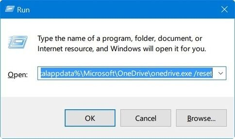 How To Reset Onedrive In Windows 10 Sl Techno Zone Windows 10 Windows Microsoft Windows