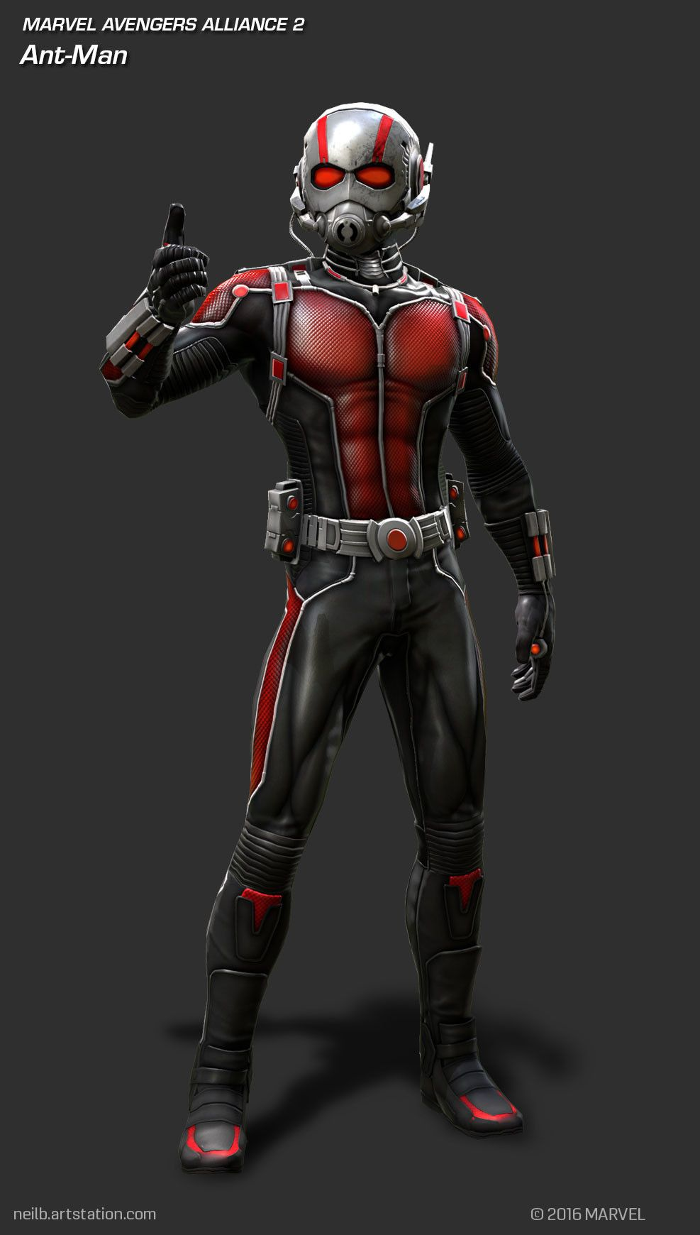 It is an image of Eloquent Marvel Heroes Ant Man