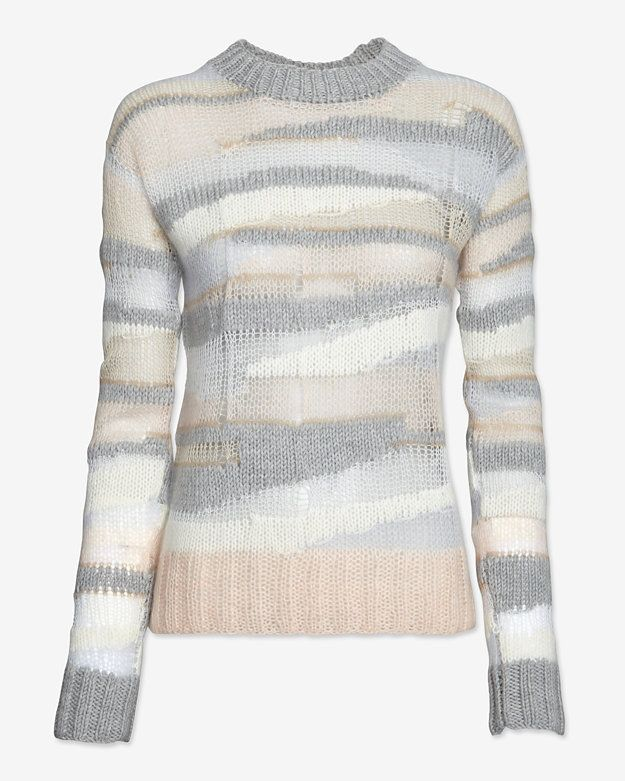 c47cc8ecfd3481 A.L.C. Oversized Open Weave Knit Pullover on shopstyle.com   Passion ...