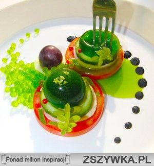 Kuchnia Molekularna Szukaj W Google Food Desserts Fruit