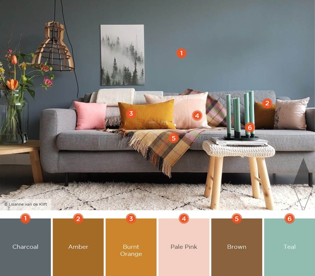 20 Inviting Living Room Color Schemes images