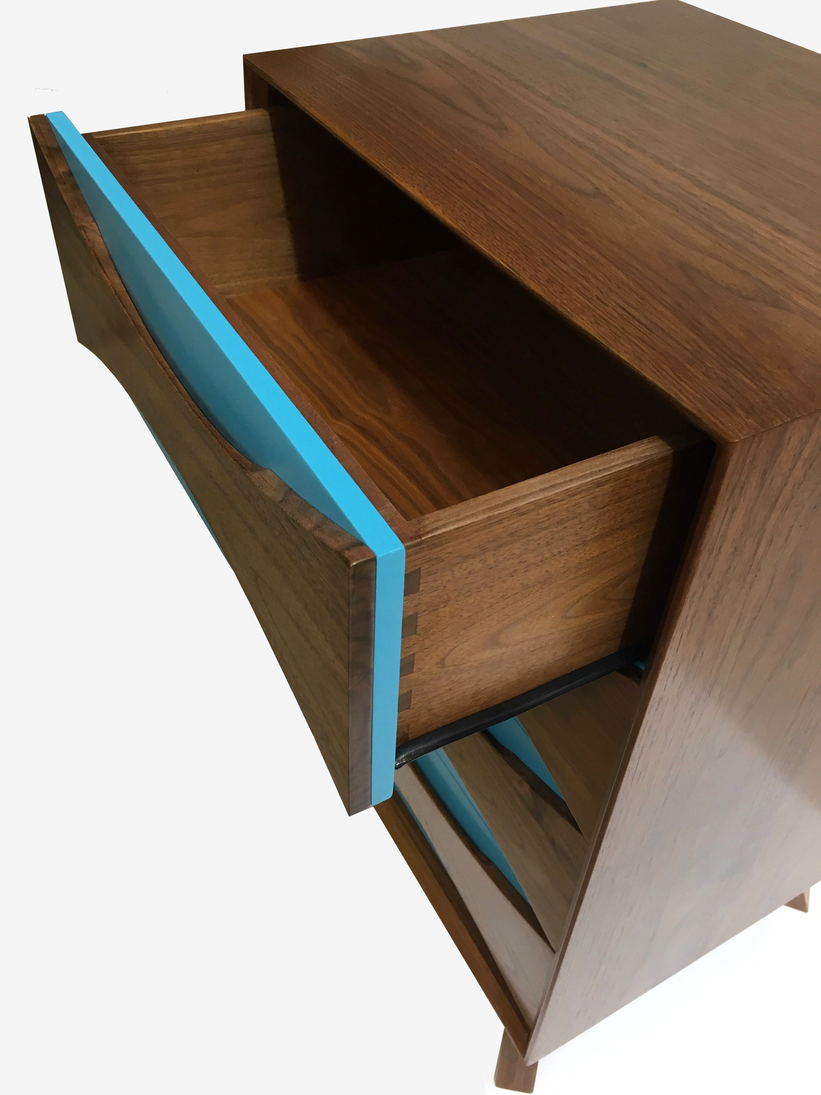 The Archer Four Cabinet From Tusk And Tail Design Is Full Of Mid Century Modern Style Solid Walnut Construction With Plenty Storage