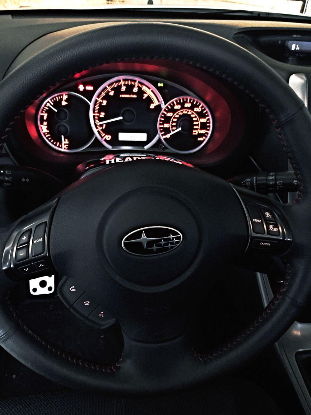 2011 Subaru Impreza Wrx Interior Subaru Pinterest Autos