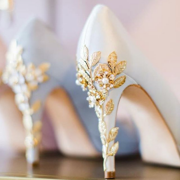 A Practical Wedding Real Weddings: Pretty Heels On Display In Our Beautiful Showroom In North