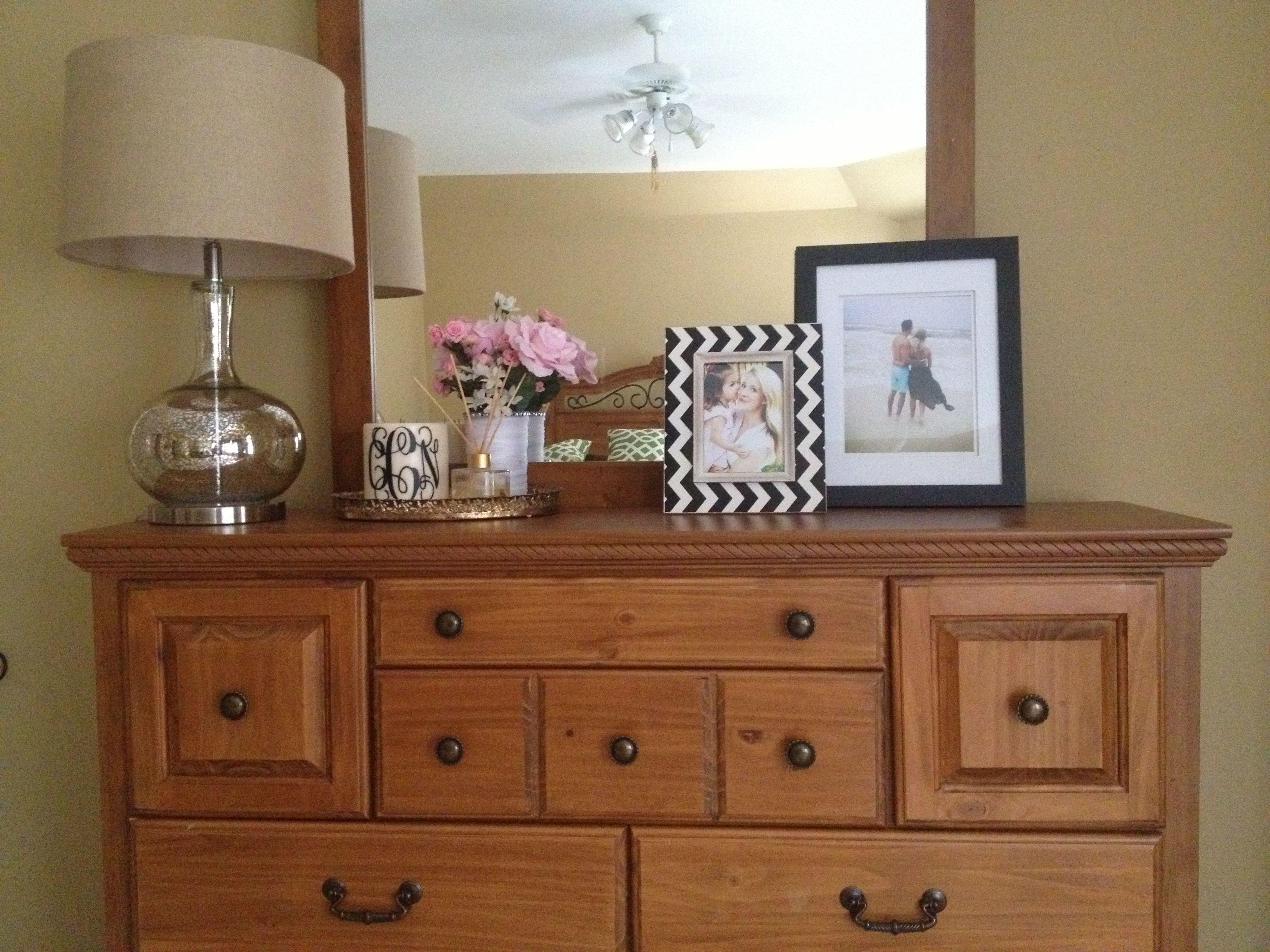 Dresser Decor Mybedroom