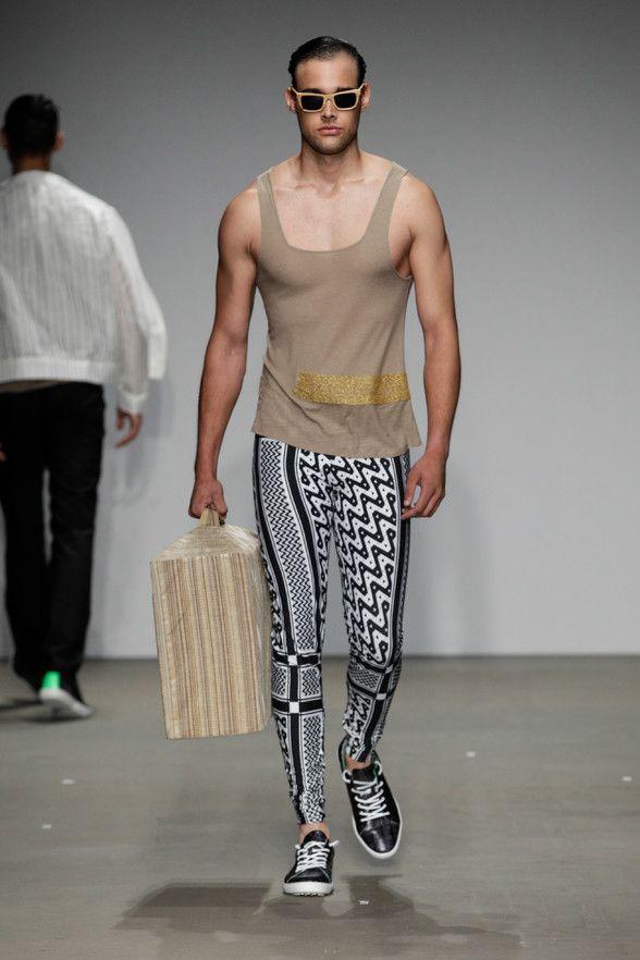 Male Fashion Trends: Allan Vos Spring/Summer 2014 - Amsterdam Fashion Week #AFW