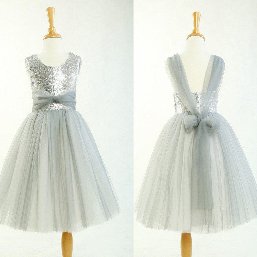 Cheap silver dresses for weddings  Wedding Dresses Flower Girl Dresses Party Dresses Sequin Dresses