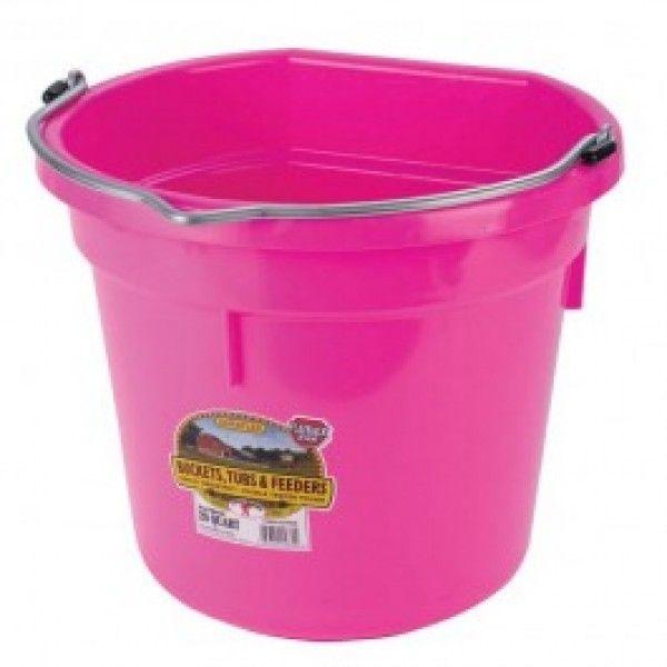 Chaudiere Flat Back 20qt Little Giants Bucket Plastic Buckets