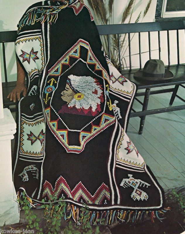 Free Native American Crochet Bowls Native American Afghan
