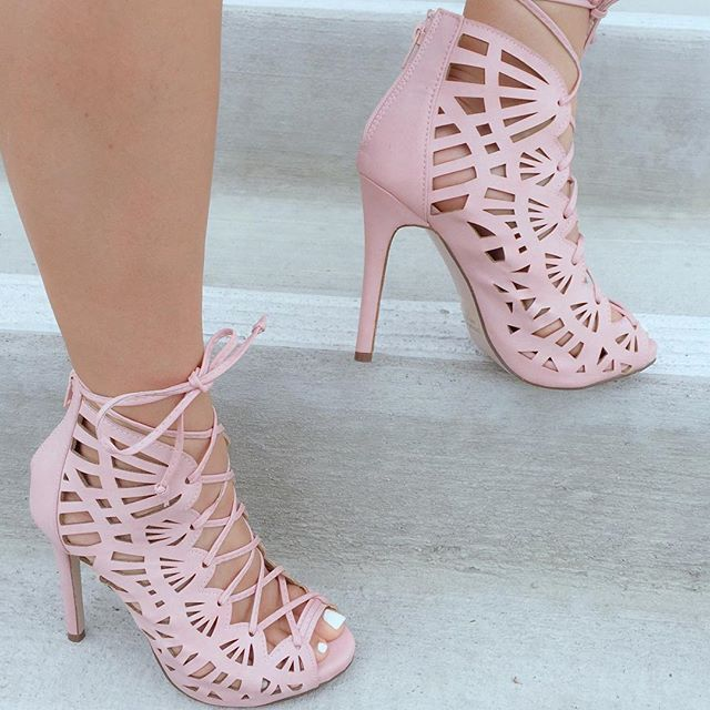 Pretty Pink Booties