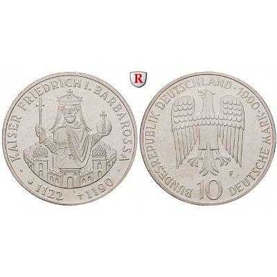 Bundesrepublik Deutschland, 10 DM 1990, Friedrich