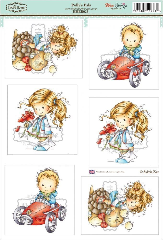 Wee Sylvia Zet die cut topper collection by the Hobby House ...