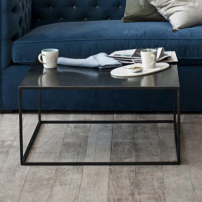 Vintage, American Made Metal Accent Table | Canvas Home
