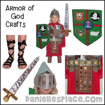 Armor Of God Bible Crafts For Sunday School From Www