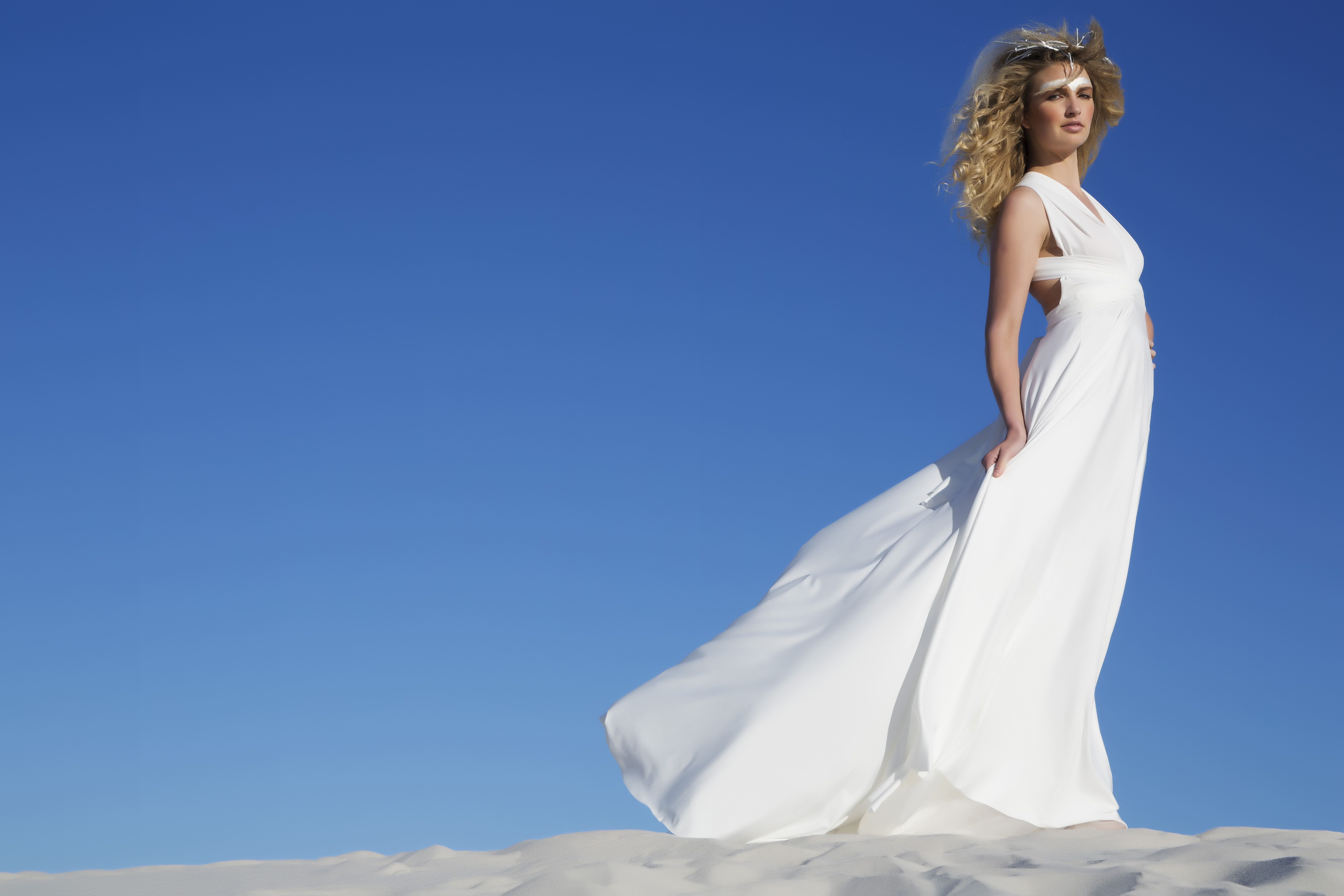 Our magnificent ivory white wedding Infinity dress is perfect for ...