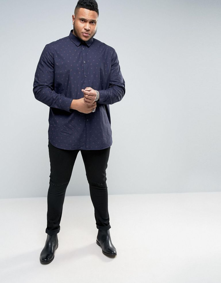 38aaf8471ec It finally happened  ASOS launches a men s plus size collection that  includes sizes to XXXXL