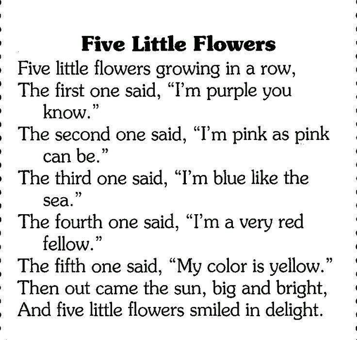 Pin by Tasneem unwala on education Preschool poems