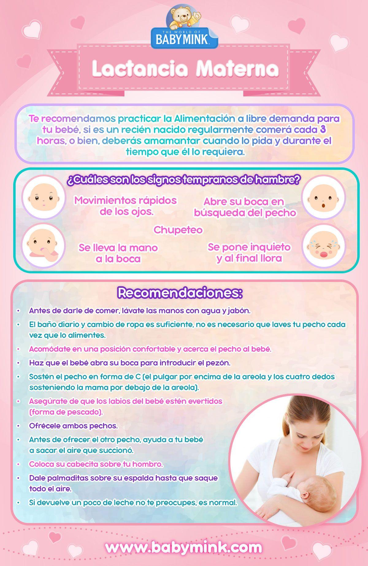La Alimentacion Del Recien Nacido Baby Mink Lactancia Materna