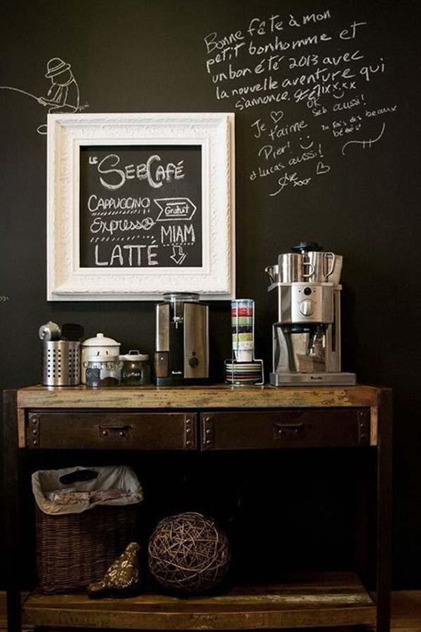 أجمل 20 تصميم لـ ركن القهوة كوفي كورنر وكوفي بار منزلي هذا العام ديكورات أرابيا Liquor Cabinet Decor Latte