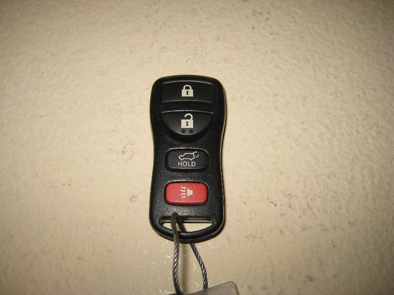 Nissan Armada Key Fob Battery Replacement Guide