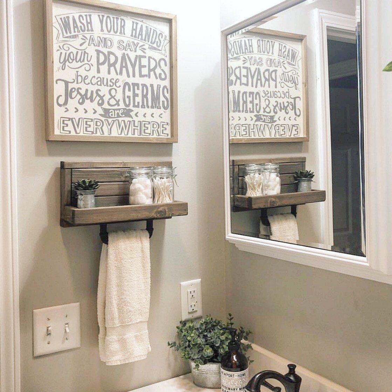 Small Hand Towel Holder Towel Rack Bathroom Decor Towel Etsy Easyhomedecor In 2020 Handdoekhouder Handdoekrekken Badkamerdecoratie Bathroom hand towel ideas