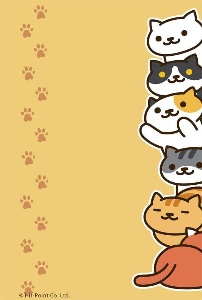 Wallpaper Neko Atsume Neko Atsume Süße Katzen Lustige