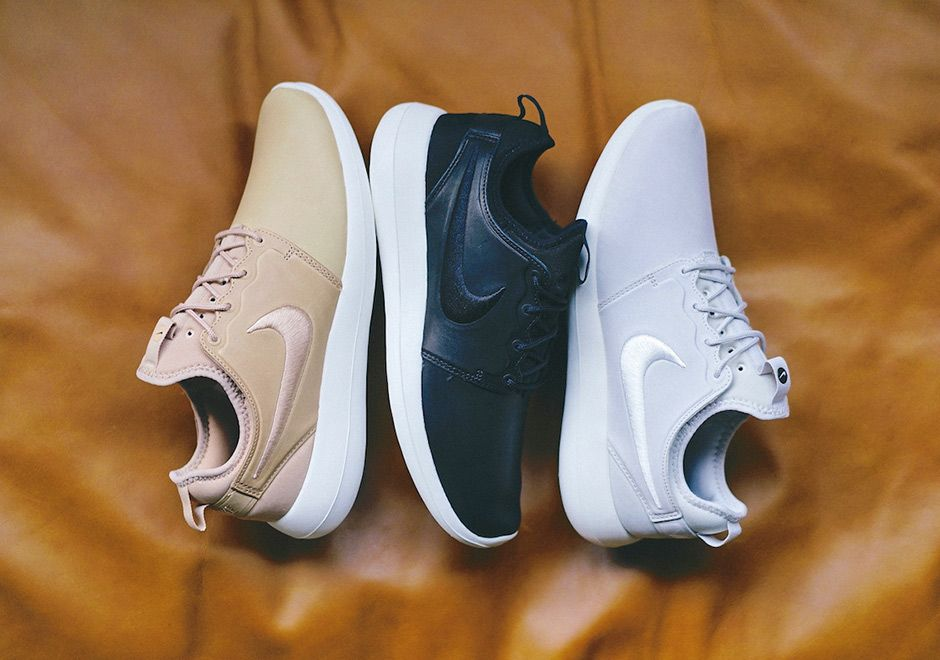 best sneakers 2cbf4 f0d5e This Trio Of Nike Roshe Two In Leather Is Now Available