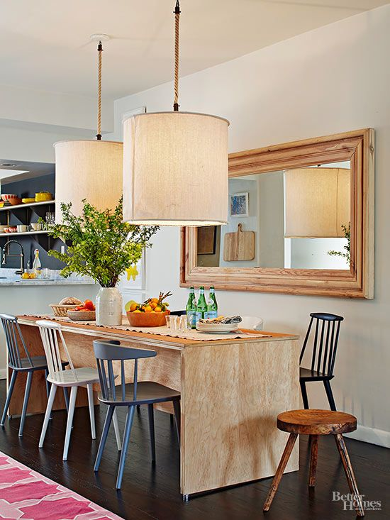 Smart Small Apartment With Images Small Room Design Dining