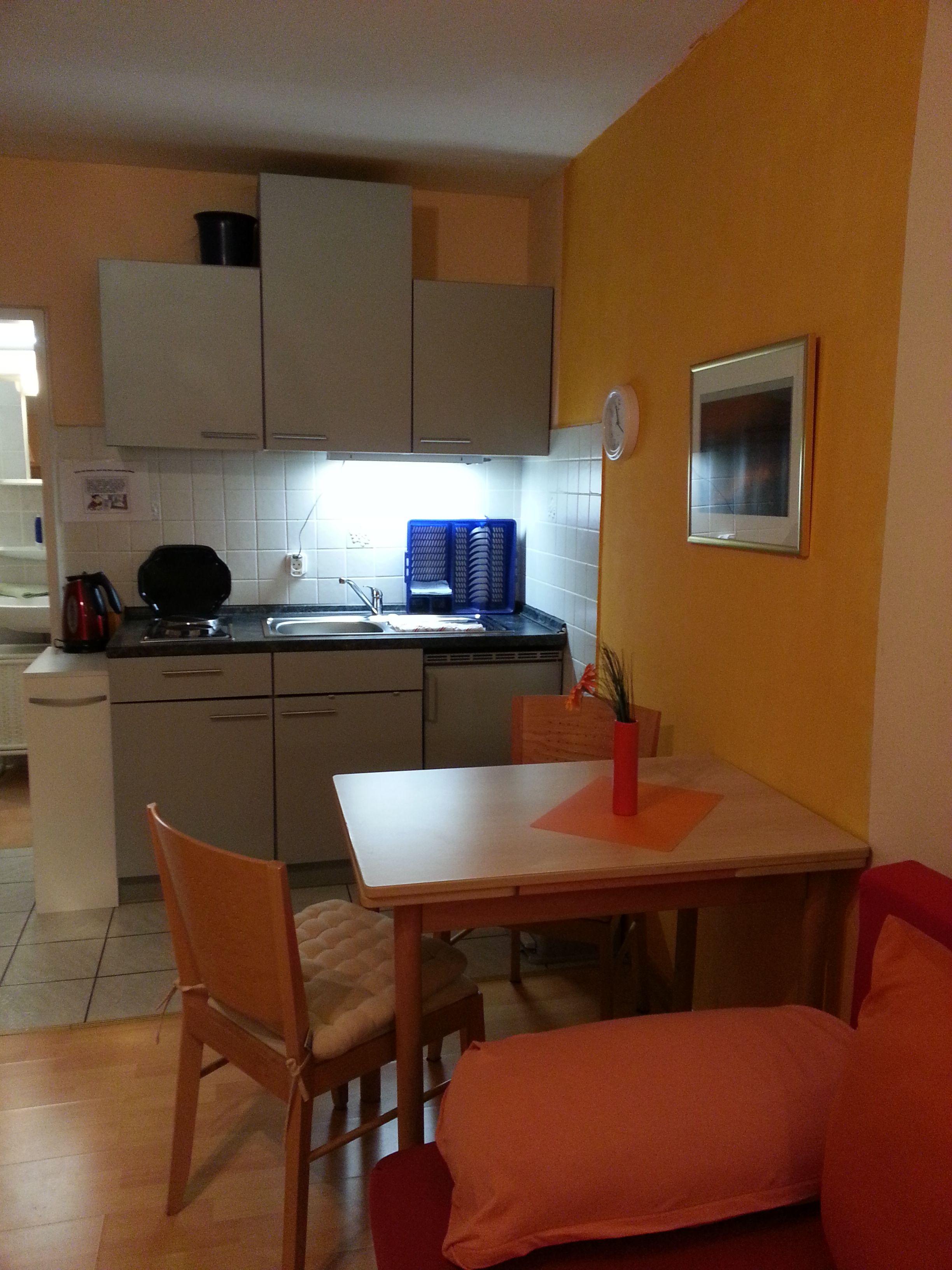 Küchenzeile in Apartment A