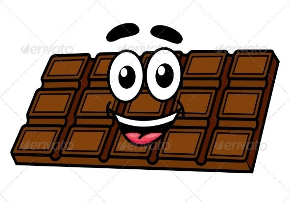 Cartoon Chocolate Cartoon Faces Cartoon Graphic Design Art